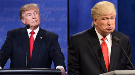 Donald Trump on using Twitter, Alec Baldwin's 'mean-spirited' 'SNL' impression of him