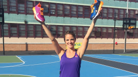 TODAY's Natalie Morales teams with Reebok to create running shoes for kids