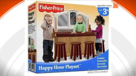 Fake 'Happy Hour Playset' ad showing toddlers at bar spurs outrage