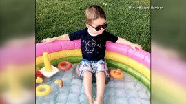 Boy's rare sight condition inspires 'Buy Sight, Give Sight' eyewear company