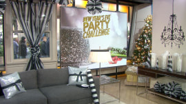 Watch 2 designers vie to create New Year's Eve spaces for only $250