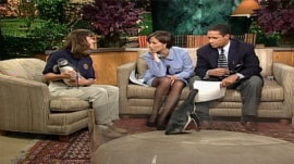 TODAY flashback: Julie Scardina brings some special visitors to Studio 1A