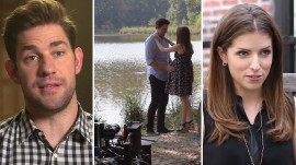 Watch John Krasinski, Anna Kendrick, and co-stars open up about 'The Hollars'