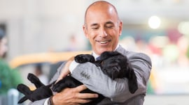 TODAY puppy Charlie wishes Matt Lauer a happy birthday