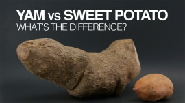 What's the difference between yams and sweet potatoes?