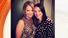 Katie Couric wishes her daughter happy birthday, welcomes husband to TODAY