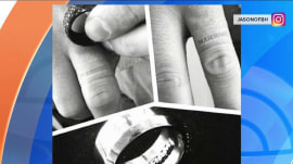 New wedding ring imprints 'married' on wearer's finger: Cheaters beware!