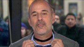 Matt Lauer's fashion choker goes viral, causes controversy