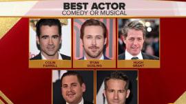 Hey Girl, will Ryan Gosling win a Golden Globe for 'La La Land'?