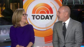 Meredith Vieira returns to co-host TODAY with Matt Lauer
