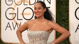 Golden Globes red carpet trends: Shimmer, long sleeves, plunging necklines