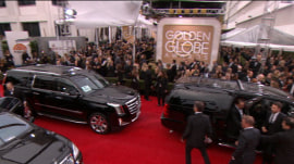 Why do celebs walk the red carpet before award shows?