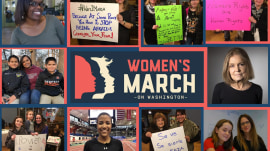 'Don't underestimate us': Hear the voices powering the Women's March on Washington