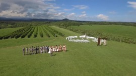 See a high-tech wedding in action: From e-invitations to GoPro and drone cameras