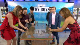 Watch BuzzFeed's Try Guys play flip cup with Hoda and Jenna
