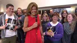 Hoda (with Matt Lauer!) quizzes fans on TODAY trivia for show's 65th anniversary