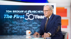 Tom Brokaw on his 50 years at NBC News: 'I had a lot of lucky breaks'