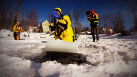 How to survive falling through thin ice: A Rossen Reports update