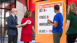 #StartTODAY: Hoda, Craig and Jenna grade their own health report cards