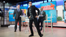 Watch John Cena and Fred Armisen dance off (and talk about 'Portlandia')