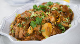 Try Curtis Stone's Mexican-style pot roast recipe