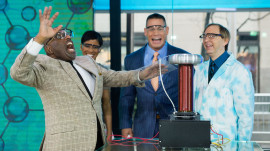 Watch Al Roker's shocking encounter with a Tesla coil