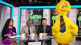 Watch Elmo, Big Bird, 'Sesame Street' gang take over TODAY's Take