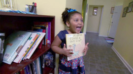 Meet the 4-year-old who loves reading more than anything