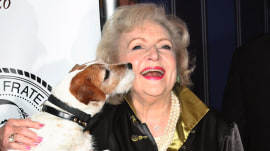 Betty White posing with animals is the greatest gift for her 95th birthday