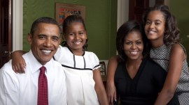 All grown up (and a little gray)! See how the Obama family has aged over 8 years