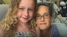 Happy ending for mom who lived for months on artificial heart