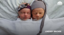 'Her special guardian angel': Newborn photo shoot captures life of twin who died