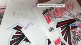 Pre-K students send Atlanta Falcons sweet letters after Super Bowl loss
