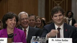 Ashton Kutcher blows a kiss to John McCain: Is bromance blooming?