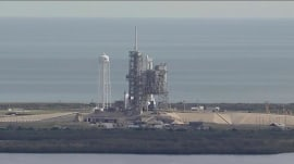 SpaceX launch scrubbed: Falcon 9 mission aborted seconds before liftoff