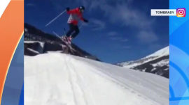 Tom Brady posts ski-jump spill, freaking out fans (and David Beckham too!)