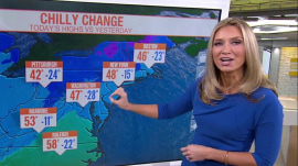 Northeast to feel cold front push in after record heat, strong storms