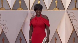 Viola Davis, Alicia Vikander, more: Oscars best red carpet looks and trends