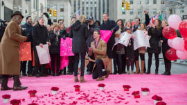Watch this woman get a surprise Valentine's Day proposal live on TODAY