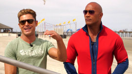 Join Dwayne 'The Rock' Johnson, Zac Efron on the set of 'Baywatch' reboot