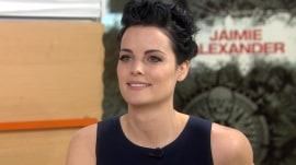 Jaimie Alexander of 'Blindspot': Kissing scenes make me burp