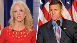 Kellyanne Conway: Michael Flynn 'knew he'd become a lightning rod'