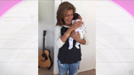 Hoda Kotb and new baby Haley Joy receive torrent of congratulations