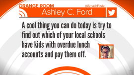 Woman's tweet inspires strangers to pay off students' lunch debts