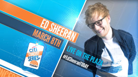 Ed Sheeran announces 'very special' concert on TODAY plaza March 8