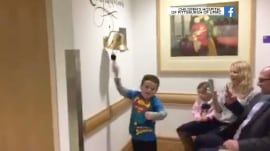 This little boy's celebration after finishing chemotherapy will make your day
