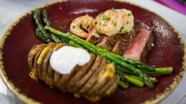 Surf and turf for two: Make this meal for Valentine's Day