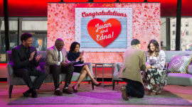 Watch this Marine veteran's on-air Valentine's Day proposal to his girlfriend
