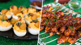 Deviled eggs, chicken skewers: Which will win this culinary cook-off?