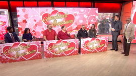 Couples (including Sheinelle and her husband) vie in 'Sweetheart Showdown'
